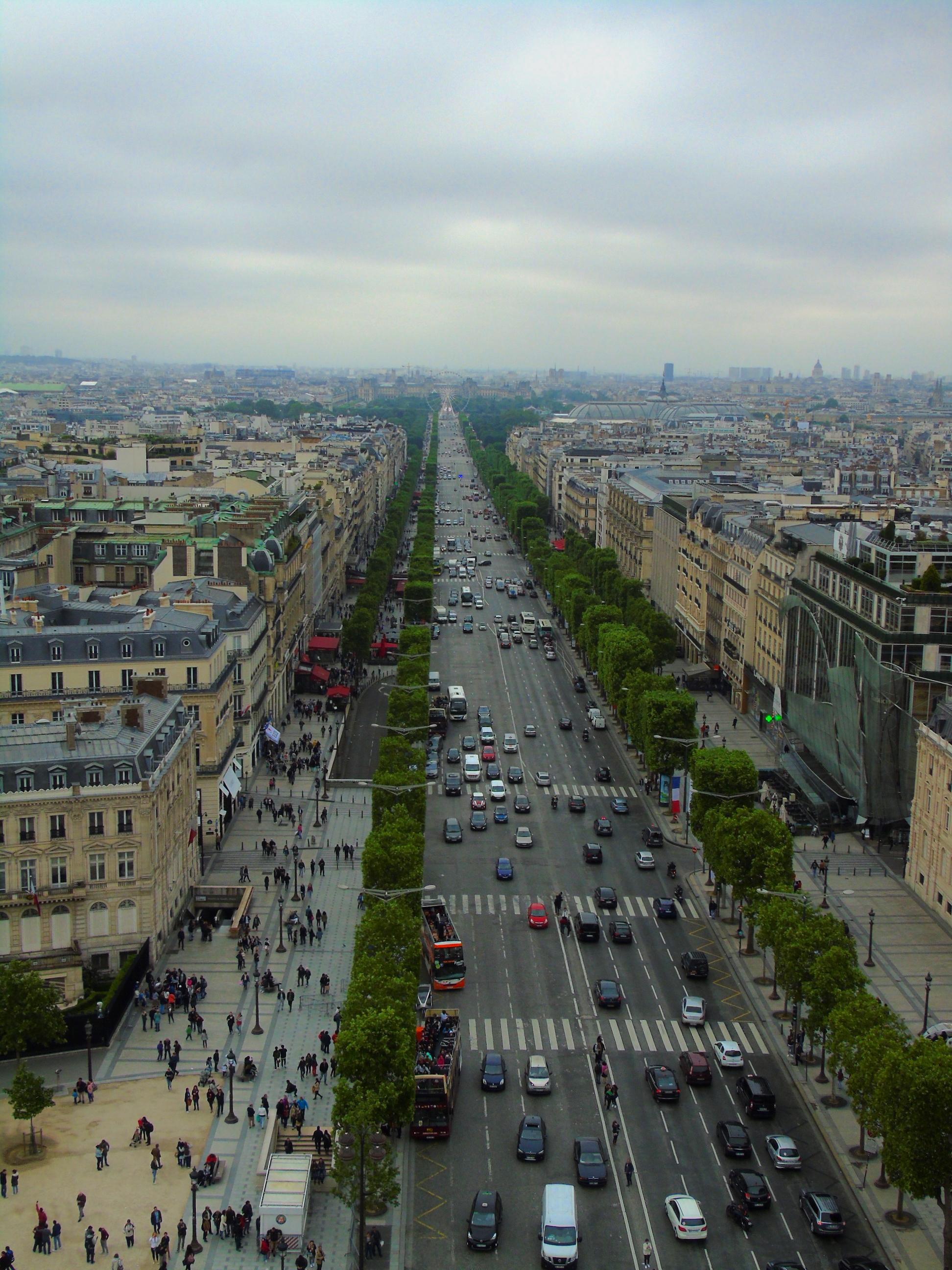 I migliori punti panoramici di parigi partiamo for Quartiere moderno parigi